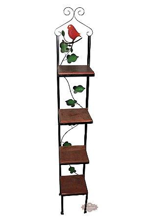 Prateleira Floreira de 4 andares