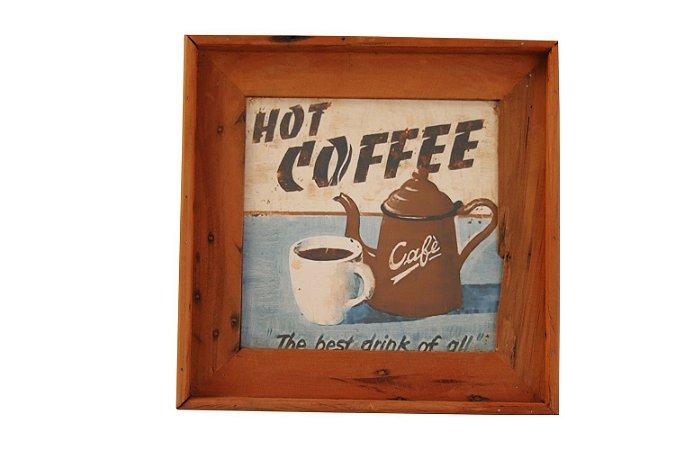 Quadrinho decorativo Coffe