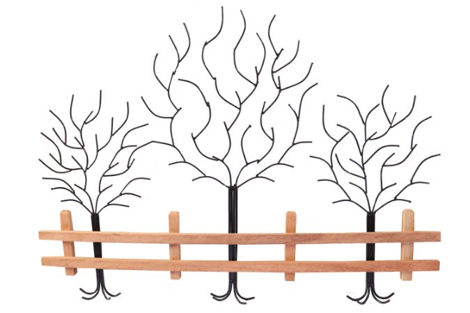 Painel Árvores com Cerca