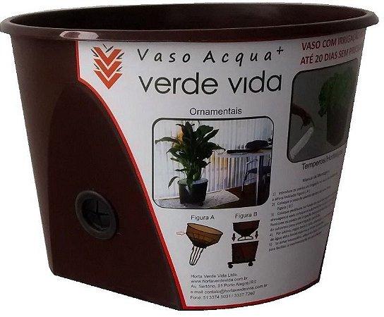 Vaso Auto Irrigável Acqua+ Anti Dengue