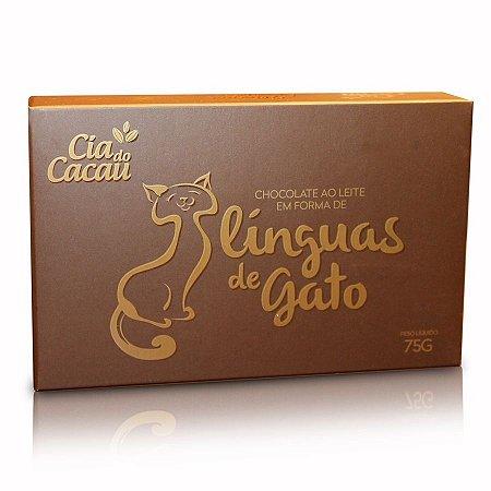 CHOCOLATE LEITE LINGUA DE GATO 75g