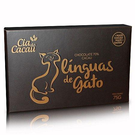 CHOCOLATE LINGUA DE GATO 70% CACAU 75g
