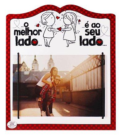 PORTA-RETRATO O MELHOR LADO