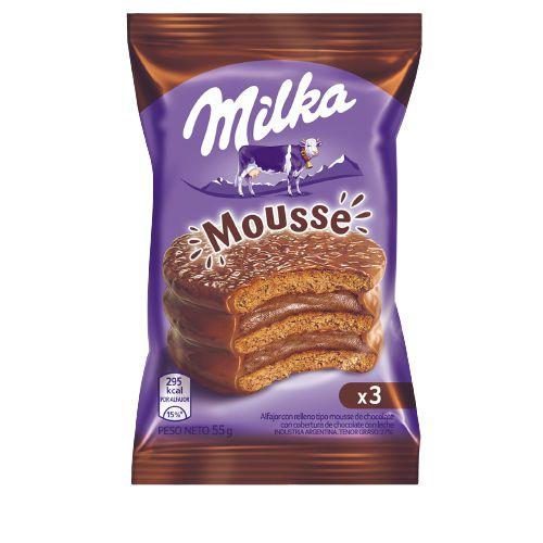 MILKA MOUSSE 55G