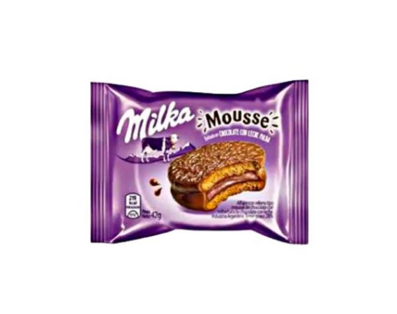 MILKA MOUSSE COM CHOCOLATE AO LEITE 42G