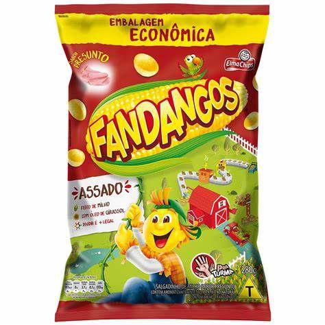 SALGADINHO FANDANGOS PRESUNTO  280g