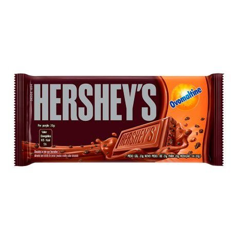 HERSHEY´S TABLETE CHOCOLATE OVOMALTINE 130g