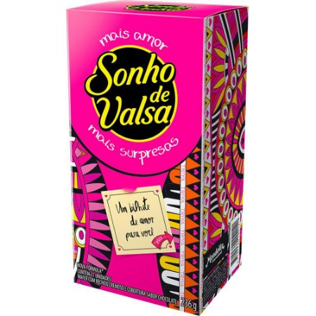 LACTA SONHO DE VALSA GIFTING 236g