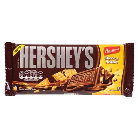 HERSHEY´S TABLETE CHOCOLATE AO LEITE CHOCO E BISCUIT 110g