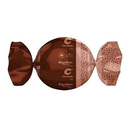 TRUFA CIA DO CACAU CHOCOLATE E COM RECHEIO DE BRIGADEIRO 23g