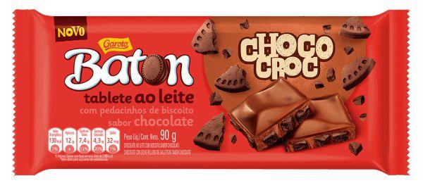 TABLETE CHOCO CROC BATON 90G