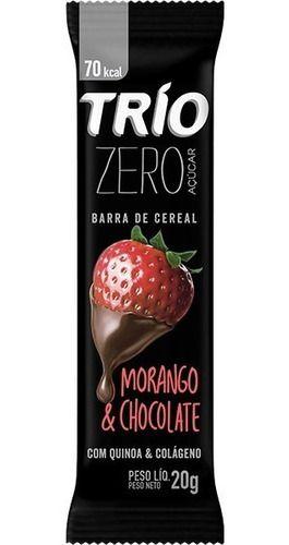 TRIO ZERO MORANGO E CHOCOLATE