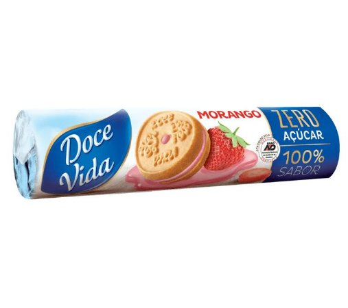BISCOITO RECHEADO MORANGO DOCE VIDA