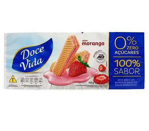 BISCOITO WAFER MORANGO DOCE VIDA