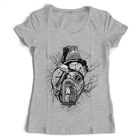 Camiseta Feminina - Morada