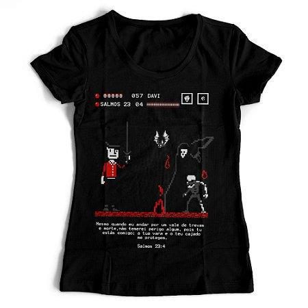 Camiseta Feminina - Salmos 23