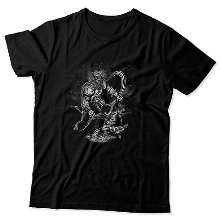 Camiseta Masculina - Davi VS Golias