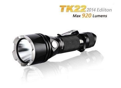 Lanterna Tática Fenix TK22 Led Cree 4 modos 920 Lumens Profissional Pegada Firme uso Policial