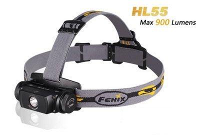 Lanterna de Cabeça Led Cree Fenix HL55 900 Lumens Resistente a Àgua e Impactos