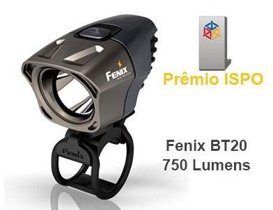 Lanterna para Bike Fenix BT20 4 Modos 750 Lumens Aerodinâmica 2 Focos Premiada