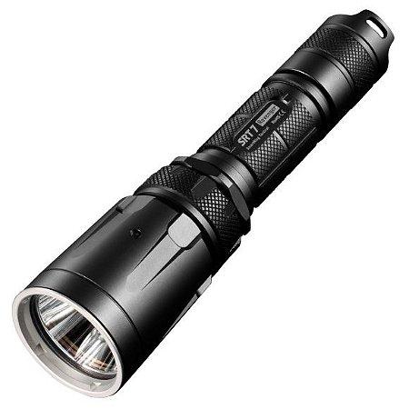 Lanterna Tática NiteCore SRT7 Led Cree Branco de 960 Lumens + Leds RGB Mergulha até 30 Metros