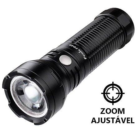 Lanterna Holofote Fenix FD40 Caça Busca e Resgate Led Cree de 1000 Lumens com Zoom Foco Ajustável