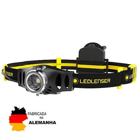 Lanterna de Cabeça e Capacete Led Lenser IH3 Industrial 120 Lumens Forte e Confiável Zoom e Luz Ajustável