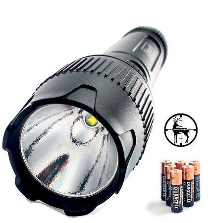 Lanterna Coleman Led Super Potente 250 Lumens Alcance de 252 metros 6 Pilhas AA