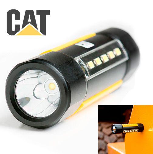 Lanterna Luminária Forte Caterpillar CAT CT3410 Led Cree de 275 Lumens Anel Magnético