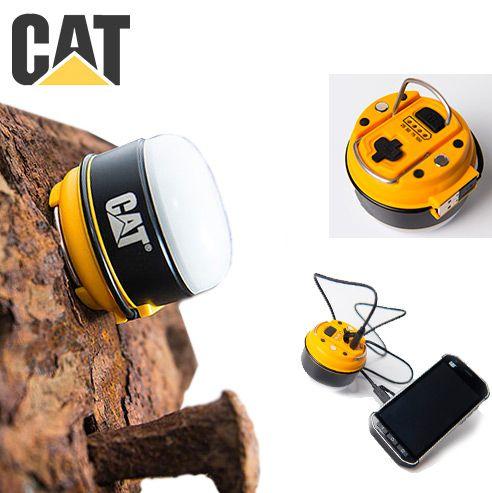 Lampião de Led 200 Lumens Caterpillar CT6525 Camping Caça Pesca ou Trabalho Carregador Portátil USB