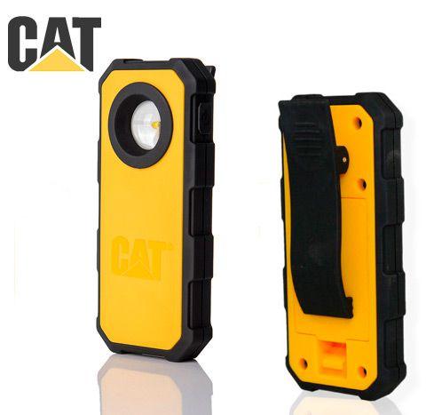 Lanterna Cotovelo de Inspeção Clipe Caterpillar CAT CT5120 Led Cree de 220 Lumens 3 Pilhas AAA