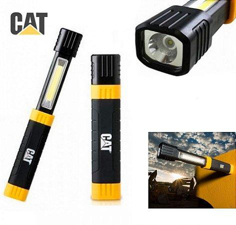 Lanterna Luminária Grande Forte Caterpillar CAT CT3110 Led Cree de 170 Lumens Fundo Magnético