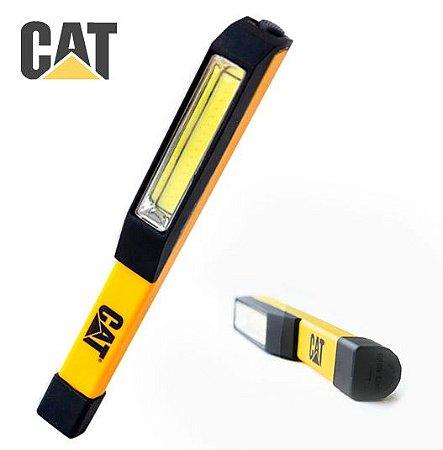 Lanterna Cotovelo de Inspeção Clipe Caterpillar CAT CT1000 Led Cree de 175 Lumens 3 Pilhas AAA