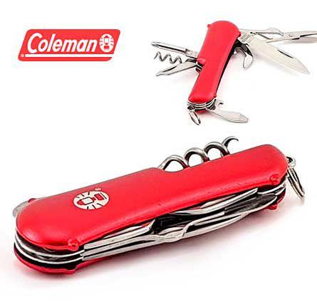 Mini Canivete tipo Suiço Coleman Ember II Ferramenta Multi Funcional Pequeno Porte 7 Funções