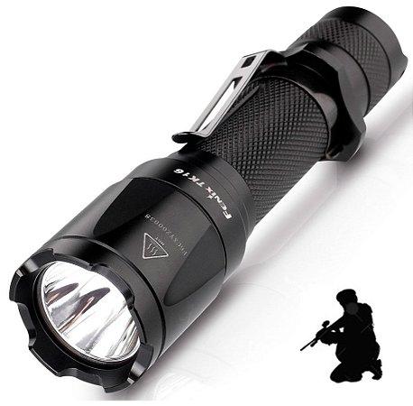 Lanterna Tática Fenix TK16 Longo Alcance 240 metros Led de 1000 Lumens