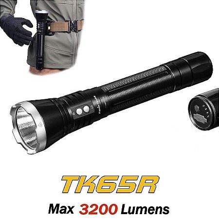 Lanterna Fenix TK65R Recarregável Led de 3200 Lumens - Longo Alcance e Autonomia