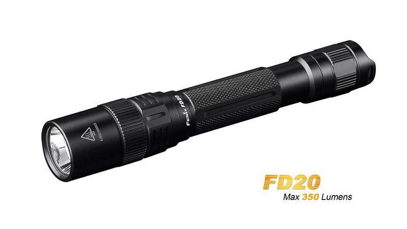 Lanterna Fenix Fd20 Led de 350 Lumens Uso Diário EDC  Zoom Ajustável