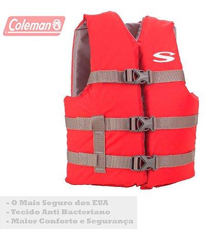 Colete Salva Vidas Infantil para Crianças até 40Kg o Melhor Coleman Boating