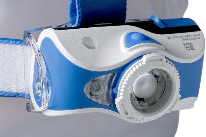 Lanterna Ledlenser MH7 600 Lumens - Azul