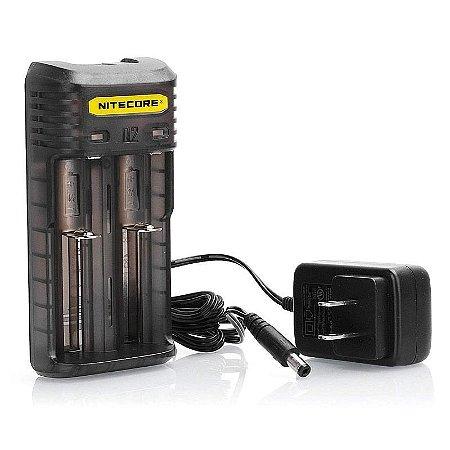 Carregador Rápido para pilhas e Baterias Nitecore Q2 2A