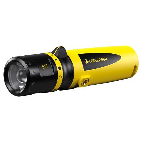 Lanterna Intrinsecamente Segura LedLenser EX7 Certificação ATEX Anti Explosão