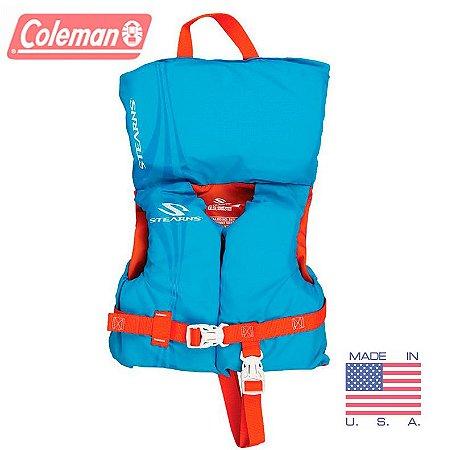 Colete Salva-Vidas para Bebês crianças de até 13kg Coleman Baby 5972 - Azul