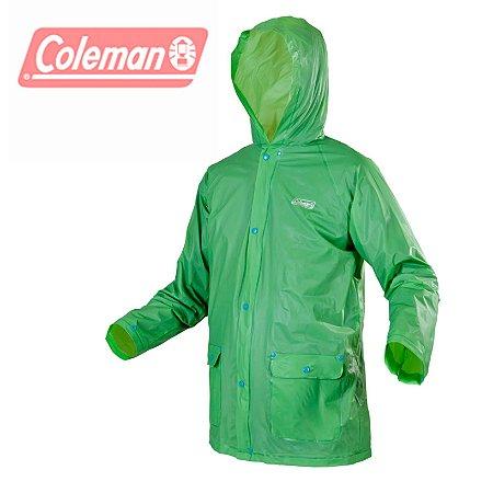 Capa de chuva Coleman Importada a Melhor Discreta e Estilosa tamanho G