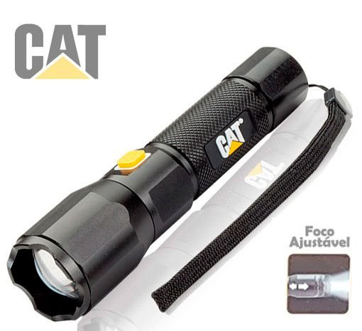 Lanterna Led Recarregável Caterpillar Cat Ct2400 Foco Concentrado 220 Lumens