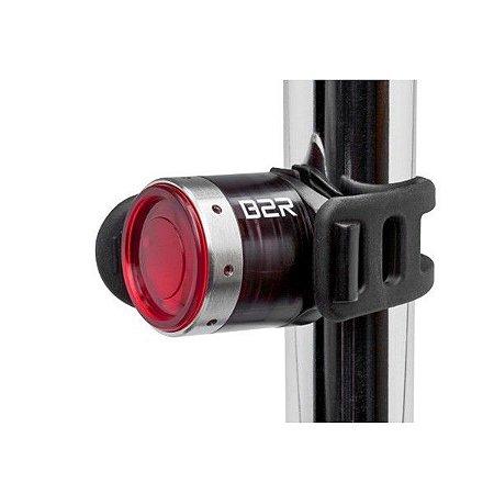 Lanterna ou Farol para Bike recarregável traseira LedLenser B2R com 5 modos de Luz