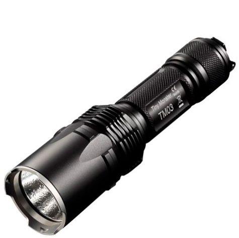 Lanterna Holofote Potente NiteCore TM03 Led Cree de 2800 Lumens Forte + Super Bateria