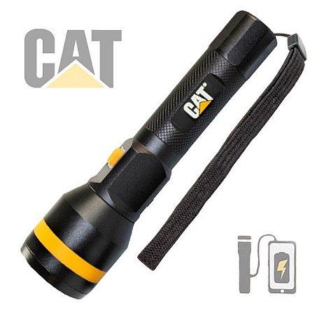 Lanterna Led Cateripillar CAT CT24565 Recarregável Potente 700 Lumens PowerBank