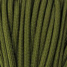 Paracord 550 Lb Corda / Cordame Militar 7 filamentos  10 Metros - OD Green (Verde Militar)
