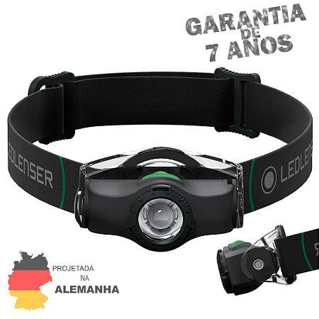 Lanterna de Cabeça e Capacete LedLenser MH4 BLACK Zoom Ajustável 200 Lumens