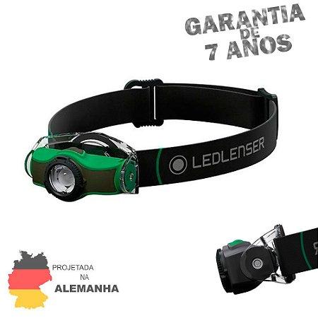 Lanterna de Cabeça e Capacete LedLenser MH4 Green